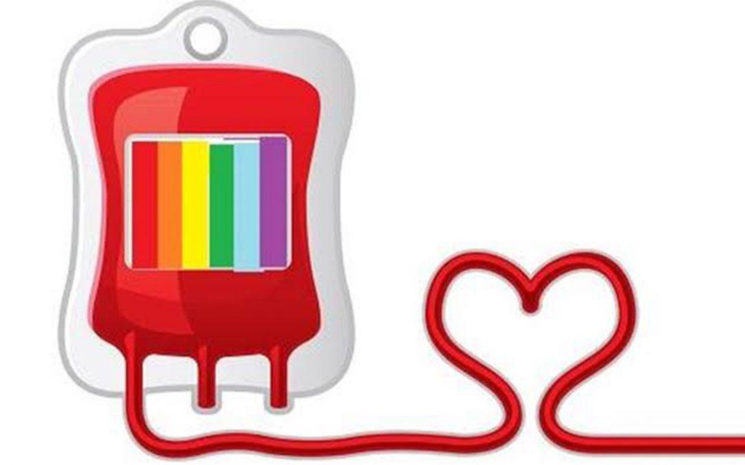 Reviravolta: Por ser Gay está APTO a doar sangue!